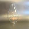 52 mm - Linjeglas 1'' (för skruvfäste) - udda äldre sort (Glas till fotogenlampa) - Linjeglas 52 mm för skruvfattning äldre udda variant