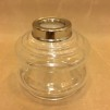 10''' oljehus glas/nickel (Oljehus till fotogenlampor) - 10''' oljehus nicklel