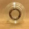 10''' oljehus glas/nickel (Oljehus till fotogenlampor)