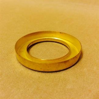 3''' kupring (yttermått: 46 mm)  (Reservdelar till fotogenlampor) - 3''' kupring polerad mässing