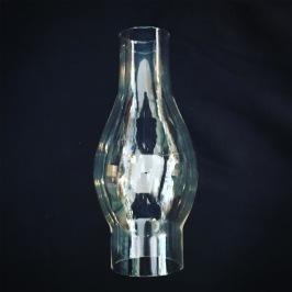 52 mm - Linjeglas 14 & 15''' lökformat kort smalt (Glas till fotogenlampa) - Linjeglas kort lök 14/15''' (170 mm)