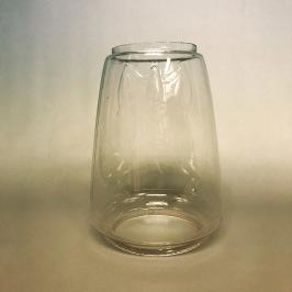 Extraglas fladdermus-stormlykta, bl.a. Feuerhand (No 201, 257, 305, 323) - Äldre begagnat glas med fladdermus