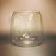 Extraglas fladdermus-stormlykta, bl.a. Feuerhand (No 260) - Enkelt begagnat glas till stor stormlykta