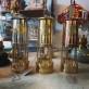 Extraglas eller packning till största gruvlyktan 26 cm Miner's Lamp