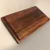 Monteringsplatta i trä för krokar, skyltar m.m. - LILLA träplattan 22x12 cm