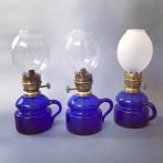 Små fästemansgåvor 3''' med blåa oljehus (äldre)