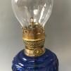 Liten fästemansgåva 3''' med blå glasornament (äldre)