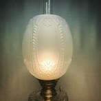 70 mm - Kupa 10''' tulpan frostad klassisk (Kupa till fotogenlampa)
