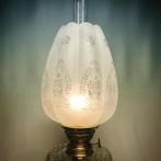 70 mm - Kupa 10''' tulpan vågad kant (Kupa till fotogenlampa)