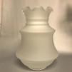 85 mm - Kupa 14''' helfrostad klassiker (Kupa till fotogenlampa) - Kupa 14''' helfrostad klassisk