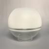 70 mm - Kupa 10''' klotformad (Kupa till fotogenlampa) - Kupa 10''' klotformad halvfrostad