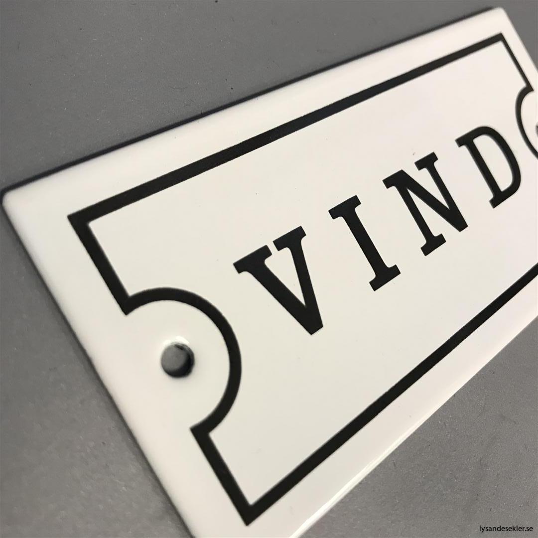 emaljskyltar vita svarta emaljskylt vit svart dörr dörremaljskylt dörrskylt (3)