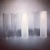 Cylinderglas 40x150mm klart (reservglas till bl.a. Cabinlite)