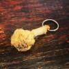 Nyckelring mini-apnäve tjärad märling