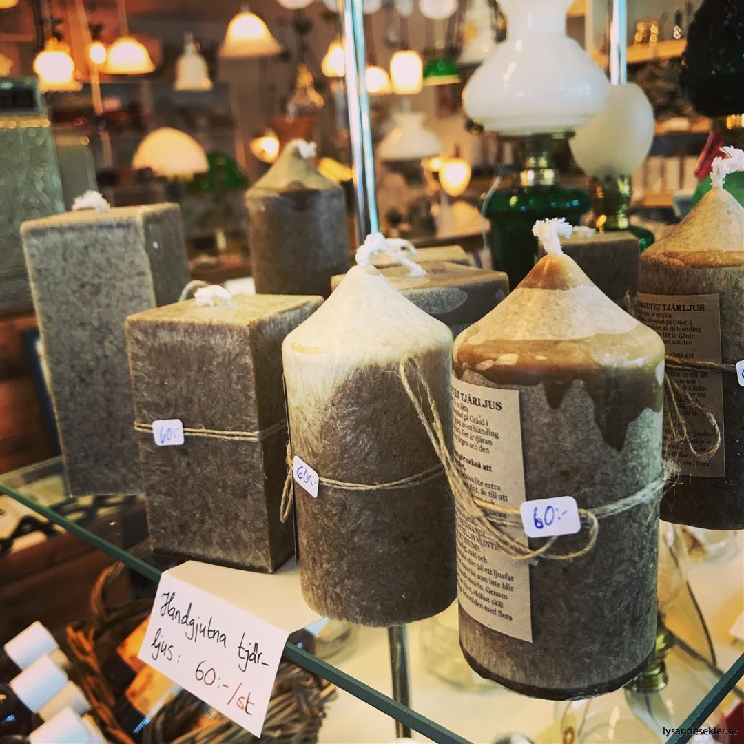 tjärljus stearinljus tjära handstöpt stöpt stöpta gjutet gjutna ljus (7)