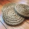 Grytunderlägg i rep