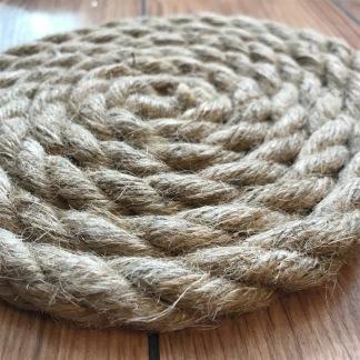 Grytunderlägg i rep - Grytunderlägg av rep cirka 20 cm