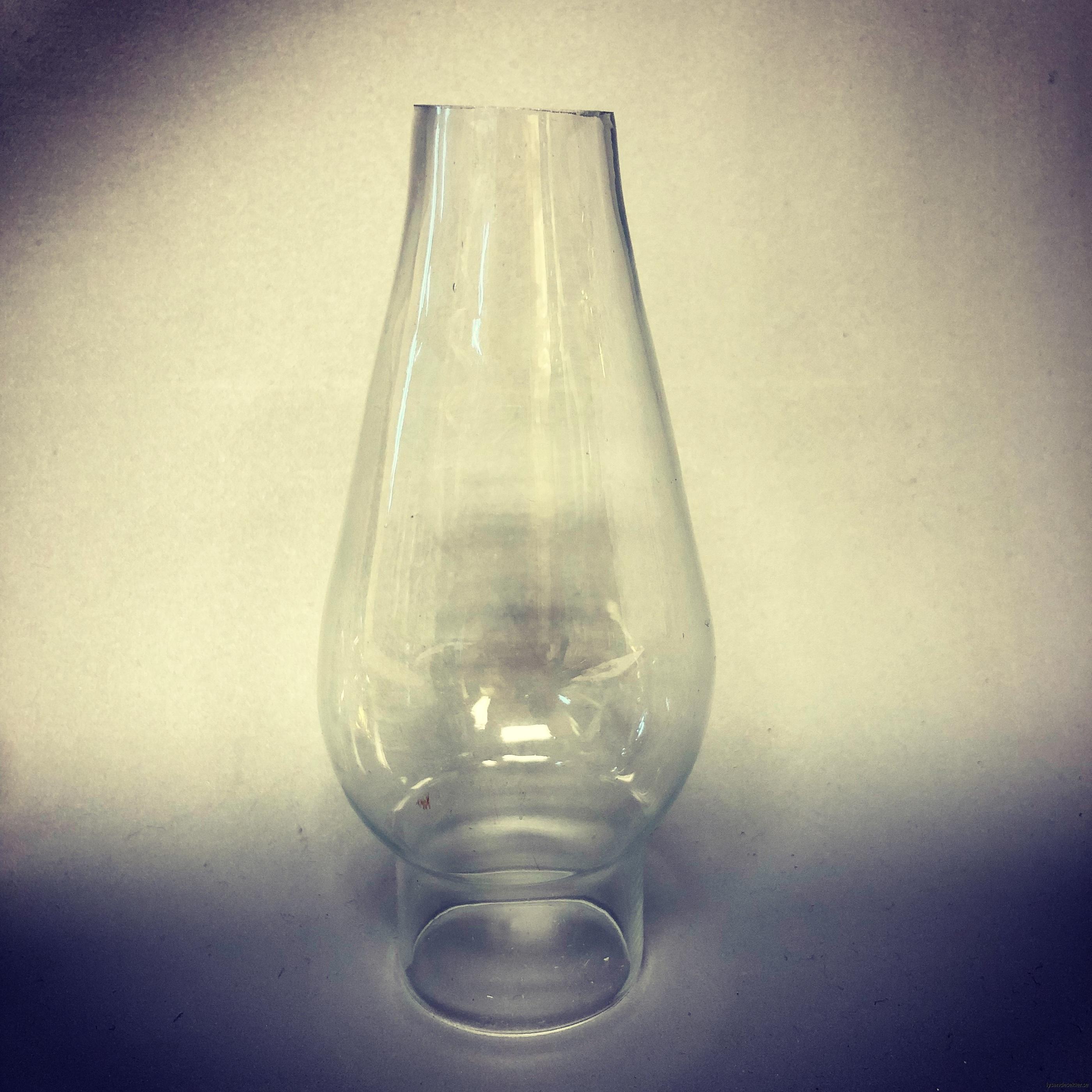 reservglas till strömshaga fotogenlampa