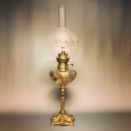 Fransk 14''' Art Nouveau fotogenlampa (äldre)