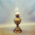 Brittisk vintage mässingslampa (äldre)