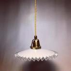 Fransk kökslampa med tygsladd (äldre)