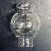 34 mm - Linjeglas 5''' / 6''' klotformat (Glas till fotogenlampa) - Samma modell men med TEXA stämpel