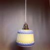 Vintagelampa med tygsladd (äldre)