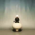 Fotogenlampa fransk i keramik 14''' (äldre)