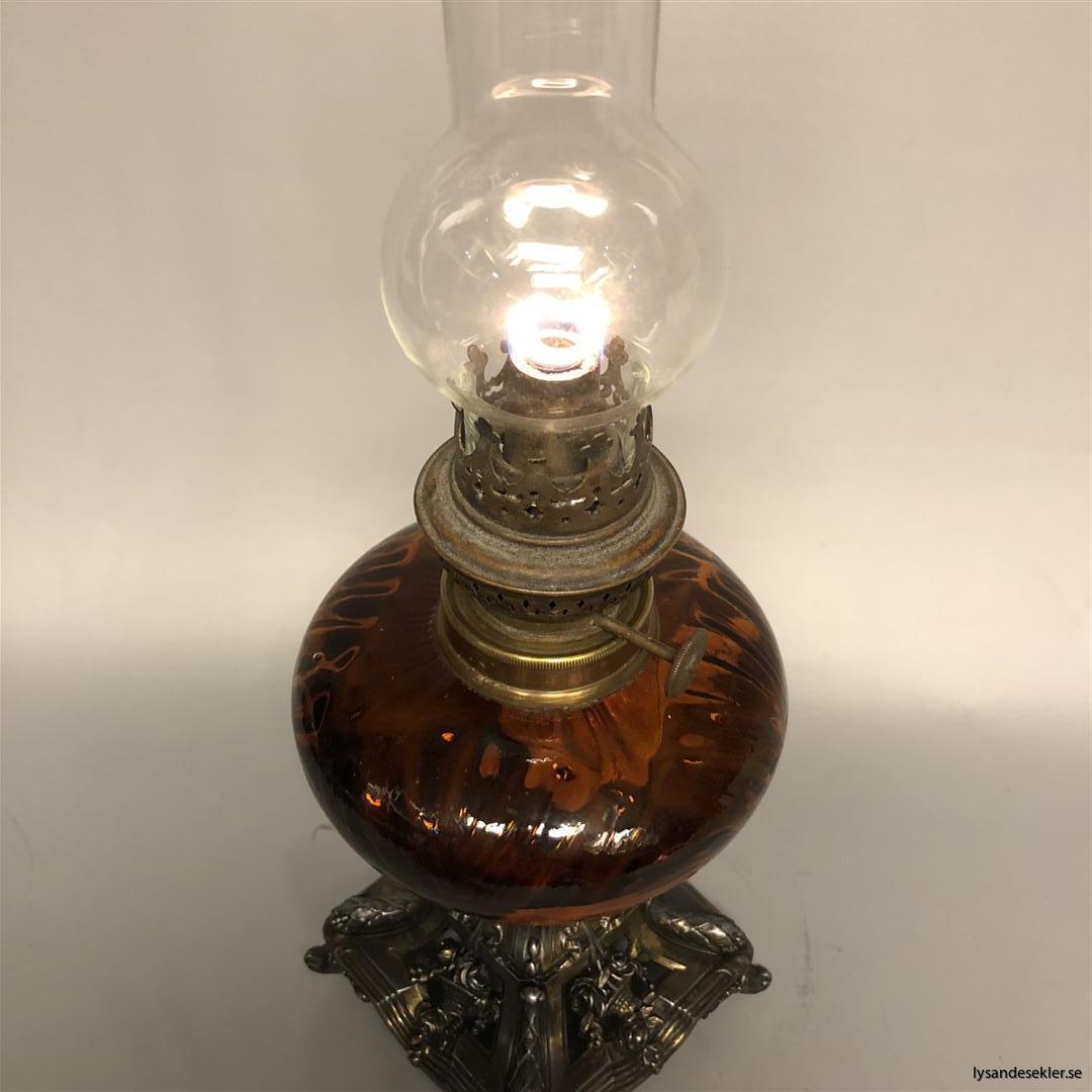 fotogenlampa oljelampa fotogenlampor oljelampor antikt antikvitet renoverad (103)