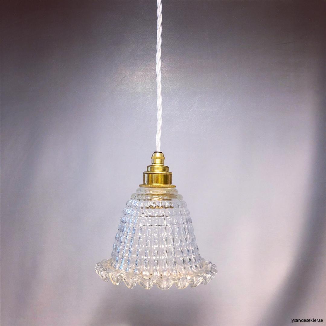 äldre elektriska lampor med tygsladd (Large)