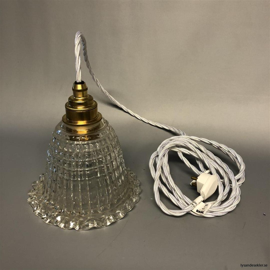 äldre elektriska lampor med tygsladd (8) (Large)