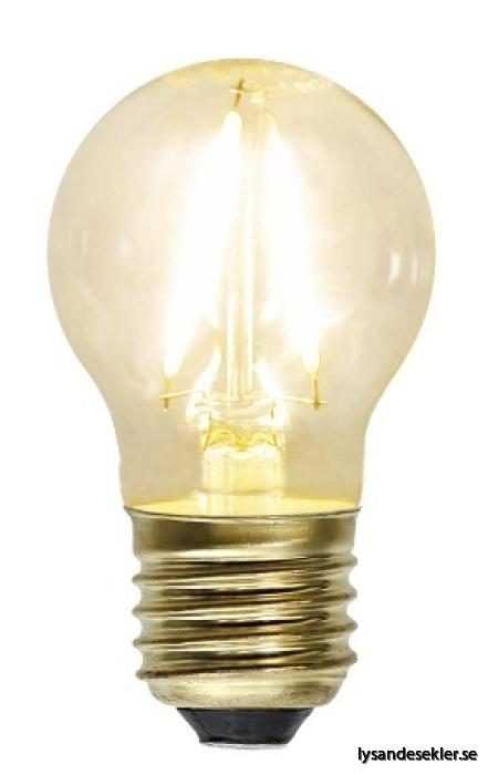 liten klotformad glödlampa LED
