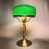 Strindbergslampa klassisk 200 mm mörkgrön