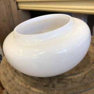 100 mm - Skärm opalvit liten - till Strindbergslampa - Strindbergsskärm MINST opalvit 100 mm i diameter