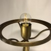 Strindbergslampa klassisk 200 mm vinröd