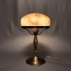 Strindbergslampa klassisk 200 mm gulmelerad