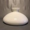 Vestaskärm opal - 350 mm (Skärm till fotogenlampa) - Vesta vit 350 mm