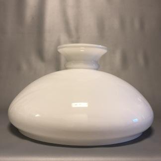 Vestaskärm opal - 400 mm (Skärm till fotogenlampa) - Vesta vit 400 mm