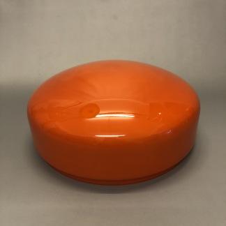 235 mm - Skärm orange stor - till Strindbergslampa - Strindbergsskärm STOR orange 235 mm i diameter