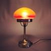 Strindbergslampa mini med varmmelerad skärm