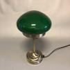 Strindbergslampa mini med mörkgrön skärm - Strindbergslampa liten grön