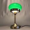 Strindbergslampa mini med mörkgrön skärm
