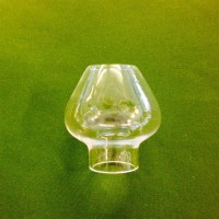 31 mm - Linjeglas 3''' cognacsformad (Glas till fotogenlampa) - Linjeglas 3''' (31 mm) cognacsglasformad (lilla cafélampan)