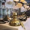 34 mm - Linjeglas 5''' / 6''' ägg (Glas till fotogenlampa)