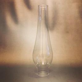 38 mm - Linjeglas 7''' lökformat (Glas till fotogenlampa) - Linjeglas 7''' (38 mm) tulipanformat