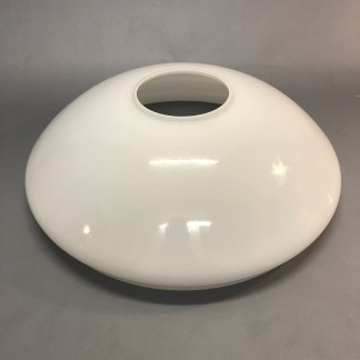 Kraglös vestaskärm opal - 295 cm (Skärm till fotogenlampa) - Vesta KRAGLÖS vit 295 mm