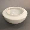 150 mm - Skärm opalvit mindre - till Strindbergslampa - Strindbergsskärm MINDRE opalvit 145 mm i diameter