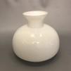 Vestaskärm opal - 150 mm (Skärm till fotogenlampa) - Vesta vit 150 mm