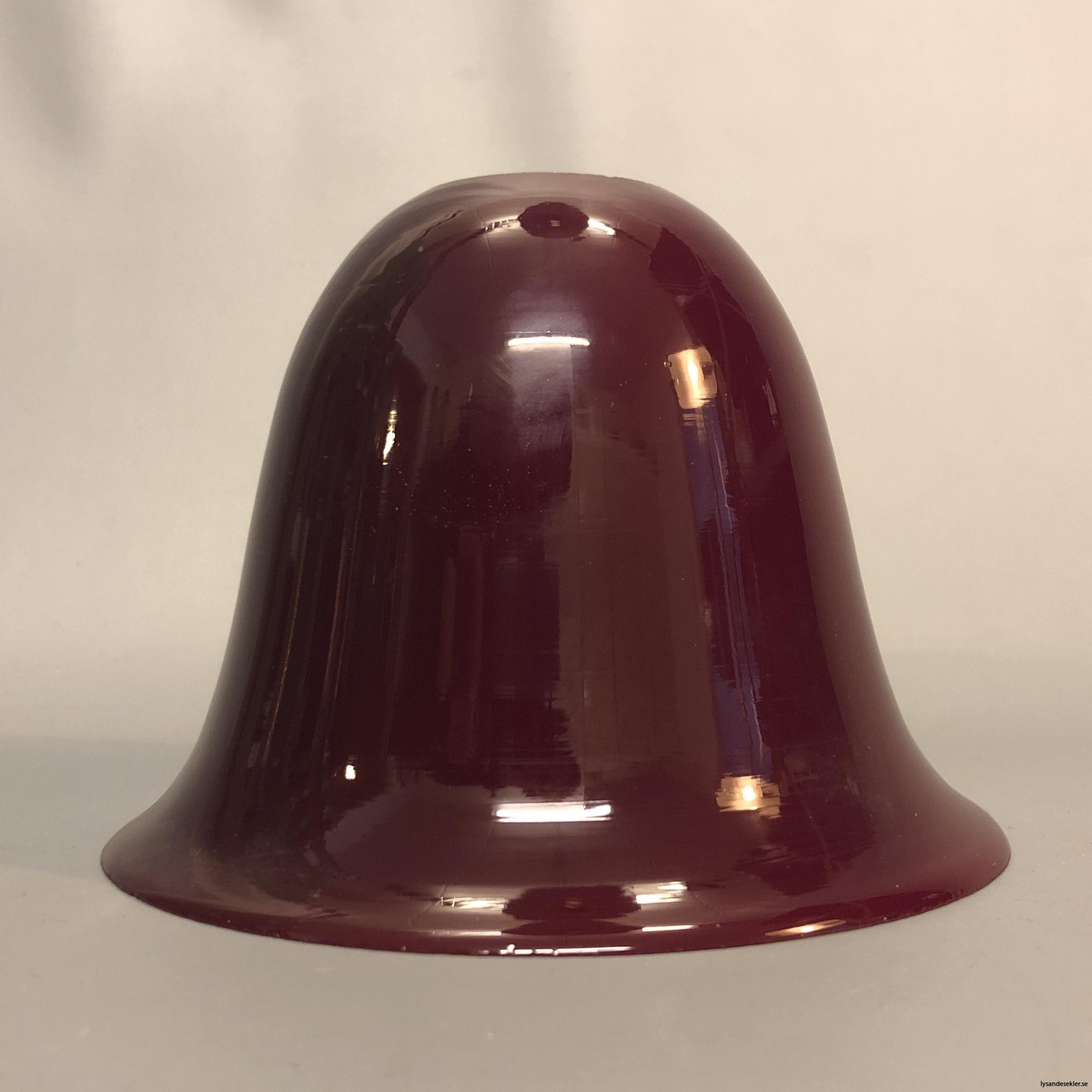 vinröd lampskärm lampkupa antik  utan fläns för E143