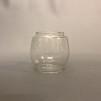 Extraglas till liten stormlykta 47x49x63 mm - Enkelt begagnat glas till liten stormlykta